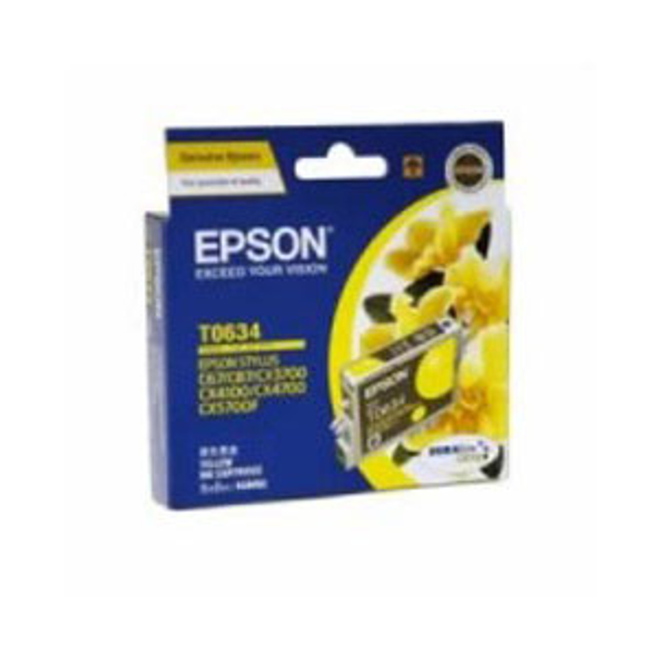 Image for Epson T0634 Yellow Ink Cart 380 pages Yellow CX Computer Superstore