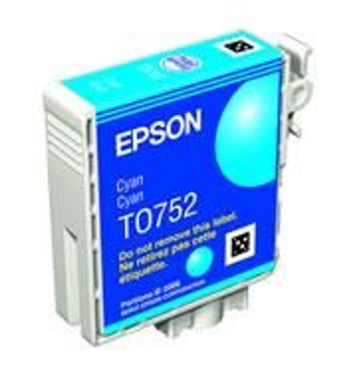 Image for Epson T0752 Cyan Ink Catridge (T075290) CX Computer Superstore