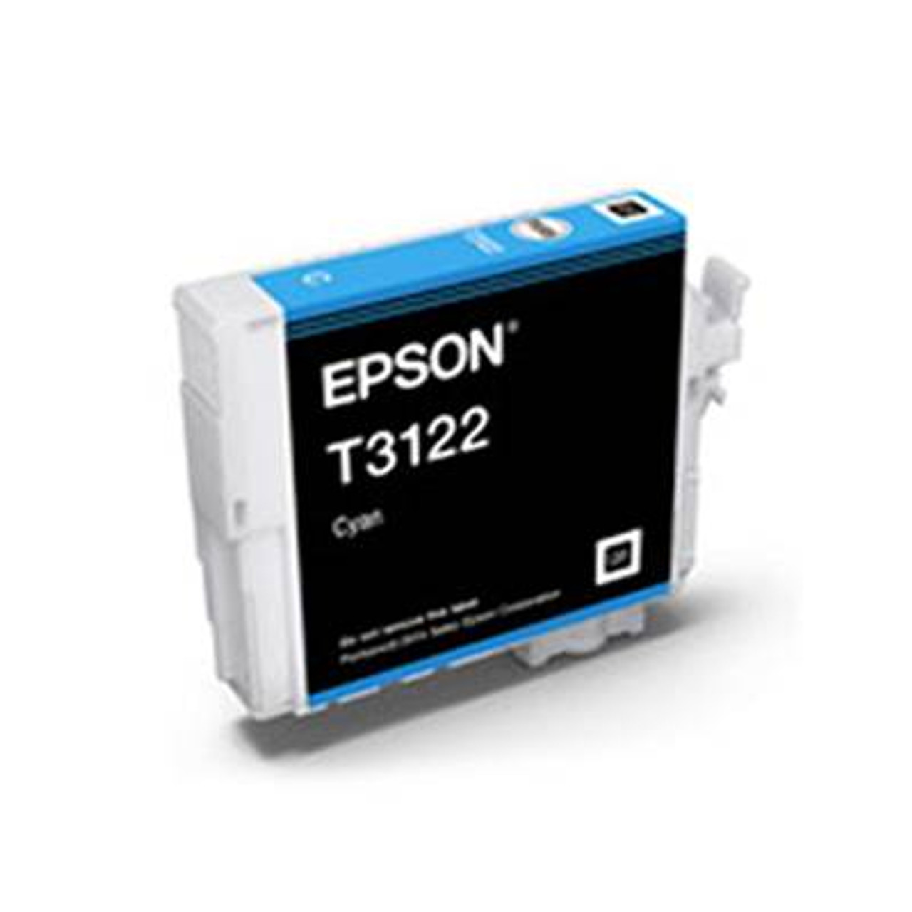 Image for Epson T3122 UltraChrome Hi-Gloss2 Cyan Ink Cartridge CX Computer Superstore