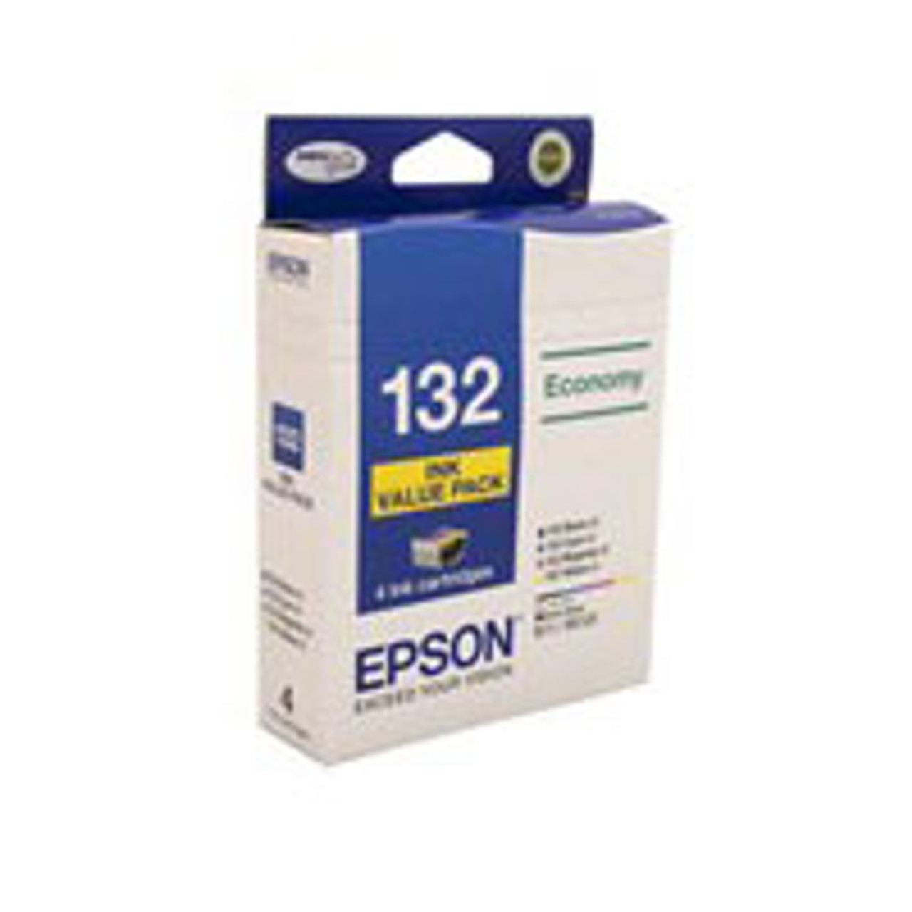 Image for Epson 132 Ink Cartridges - Black, Cyan, Magenta, Yellow CX Computer Superstore