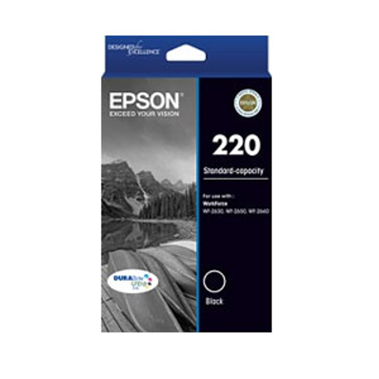 Image for Epson 220 Black Ink Cartridge CX Computer Superstore
