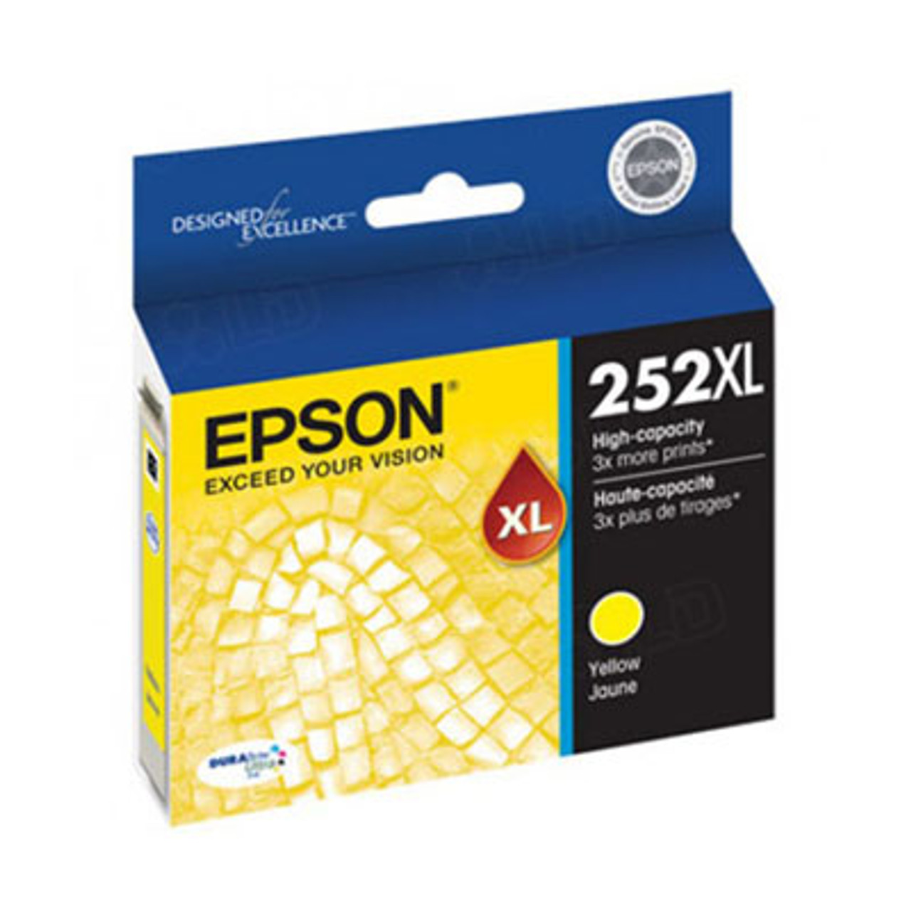 Image for Epson 252XL High Yield Yellow Ink Cartridge 1,100 pages CX Computer Superstore
