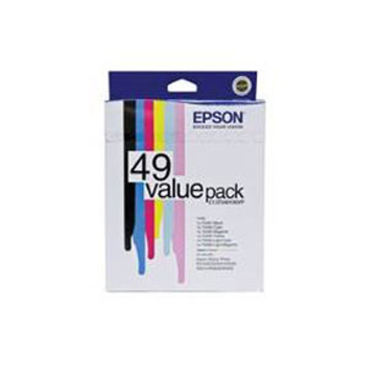 Image for Epson 49 Ink Value Pack col 430 pages Blk 420 pages Misc Consumables CX Computer Superstore