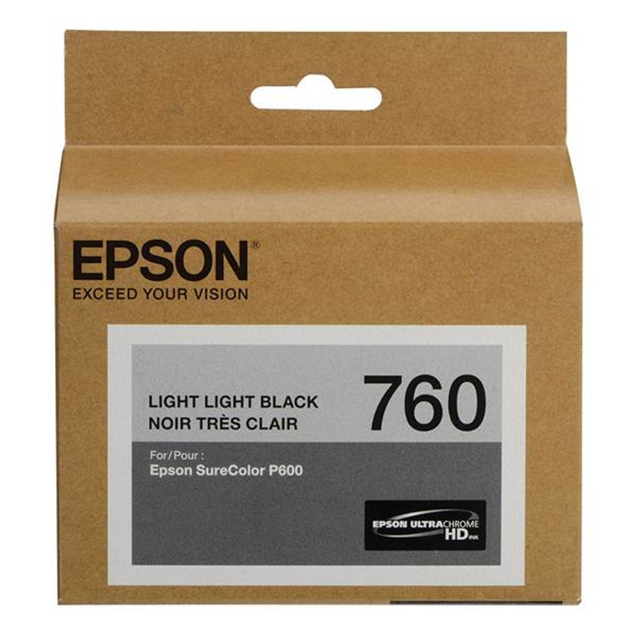 Image for Epson 760 UltraChrome HD Light Light Black Ink Cartridge CX Computer Superstore