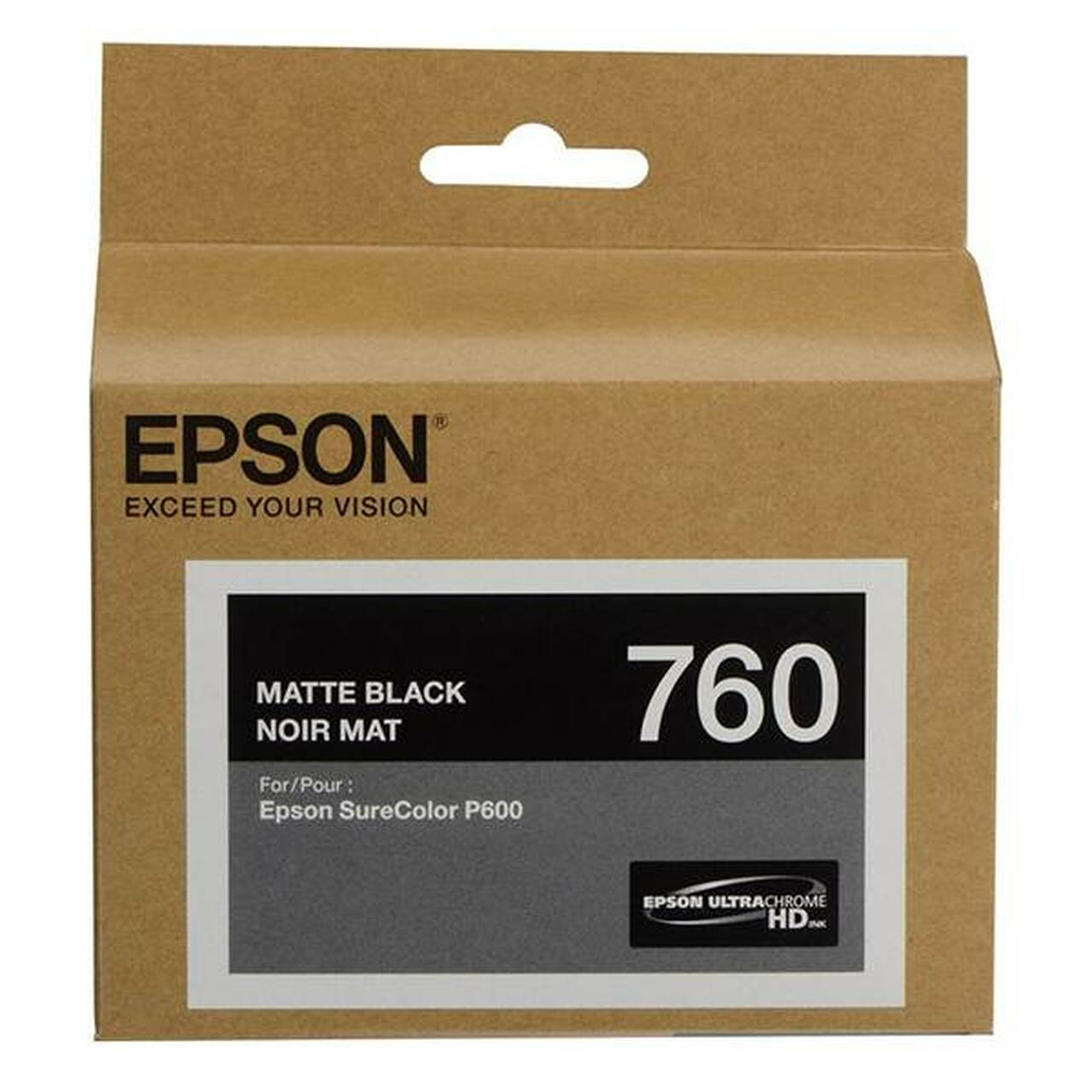 Image for Epson 760 UltraChrome HD Matte Black Ink Cartridge CX Computer Superstore