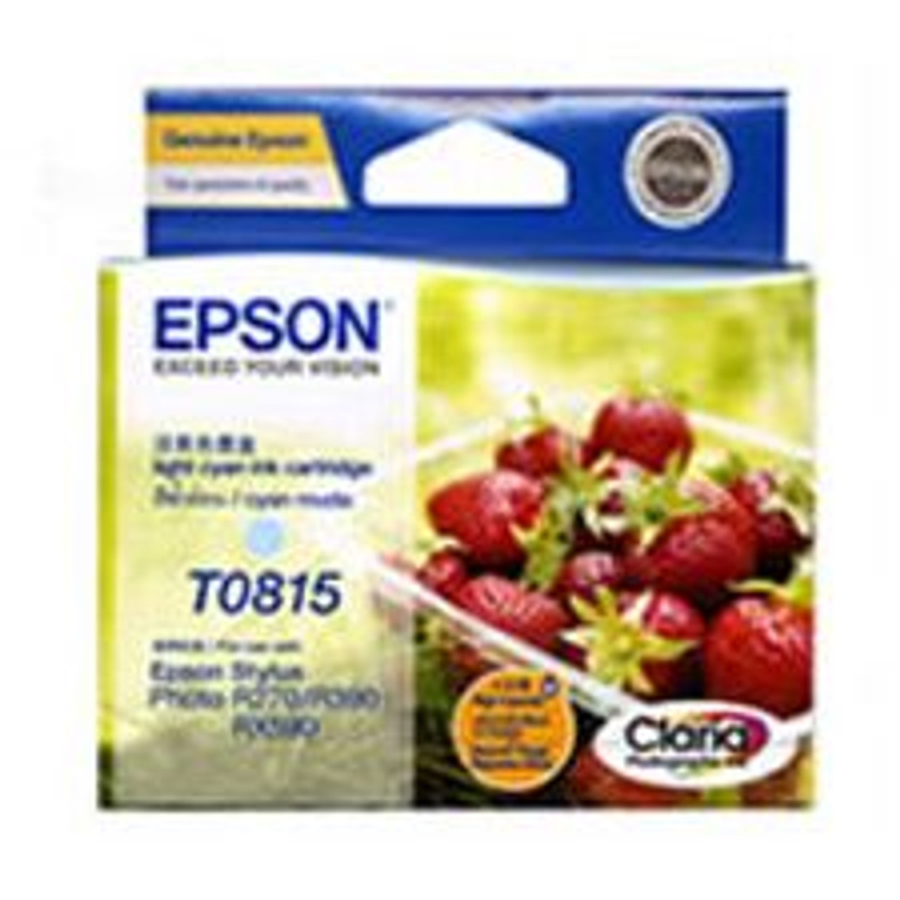 Image for Epson 81/81N Light Cyan High Capacity Ink (T111592) CX Computer Superstore
