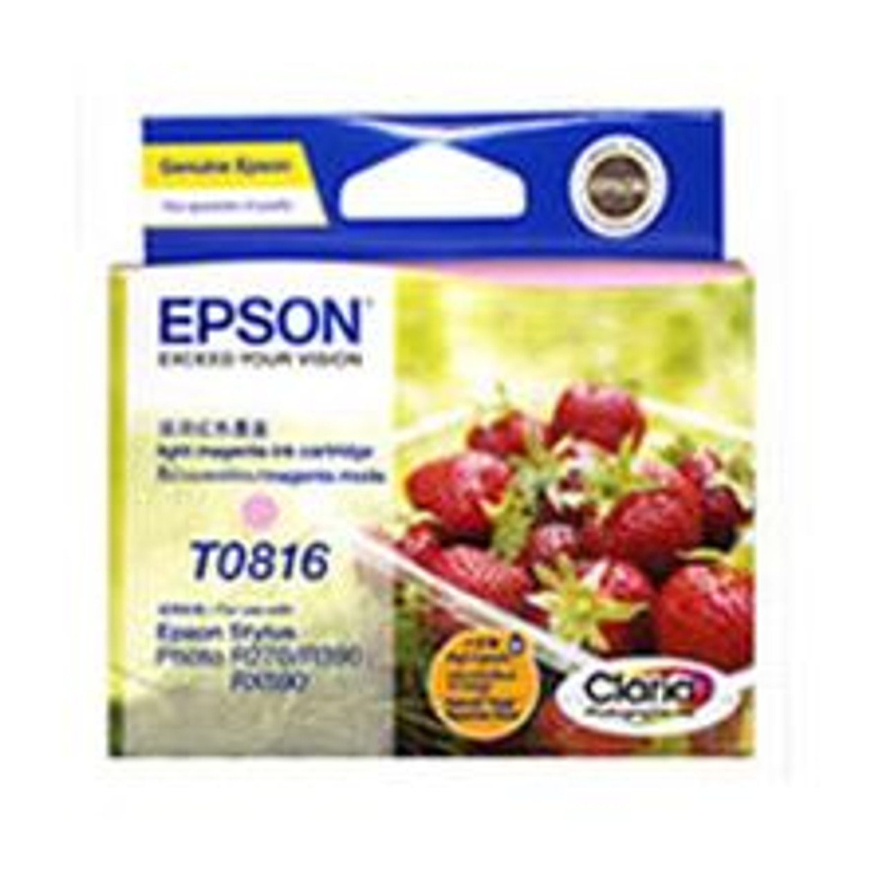 Image for Epson 81/81N Light Magenta High Capacity Ink (T111692) CX Computer Superstore