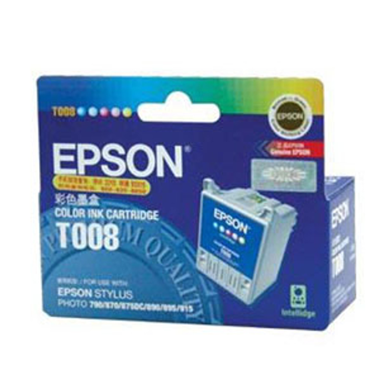 Image for Epson T008 Colour Ink Cartridge - 220 pages CX Computer Superstore
