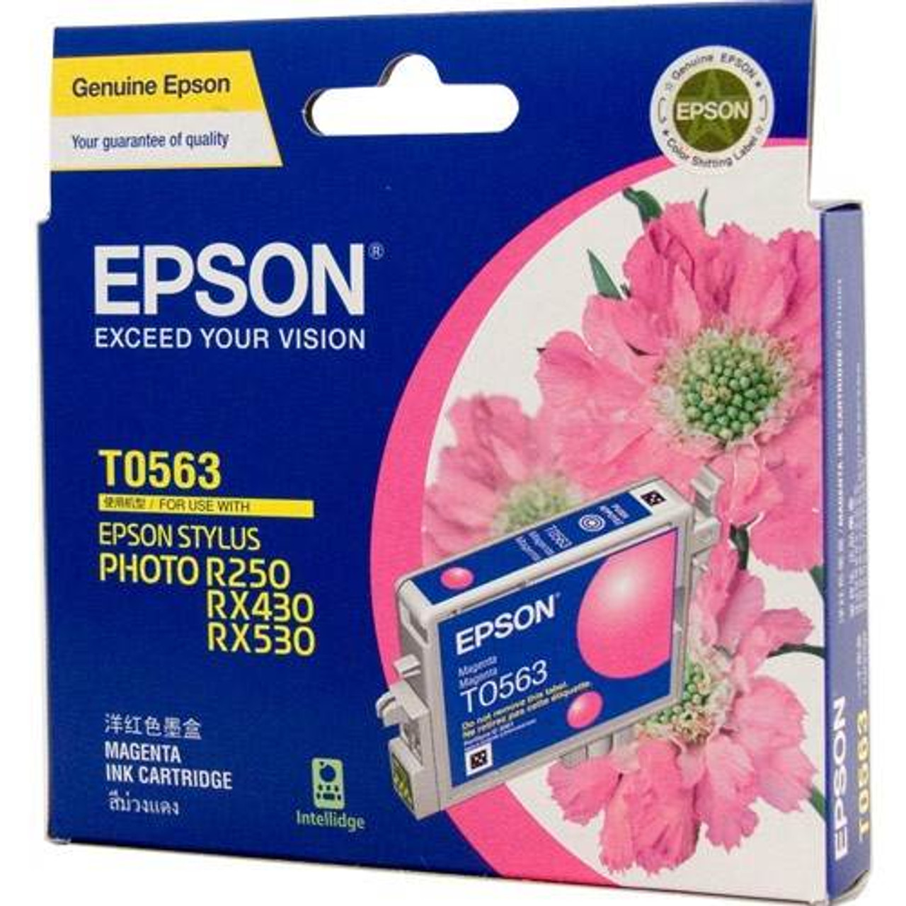 Image for Epson T0563 Stylus Magenta Ink 290 pages (T056390) CX Computer Superstore