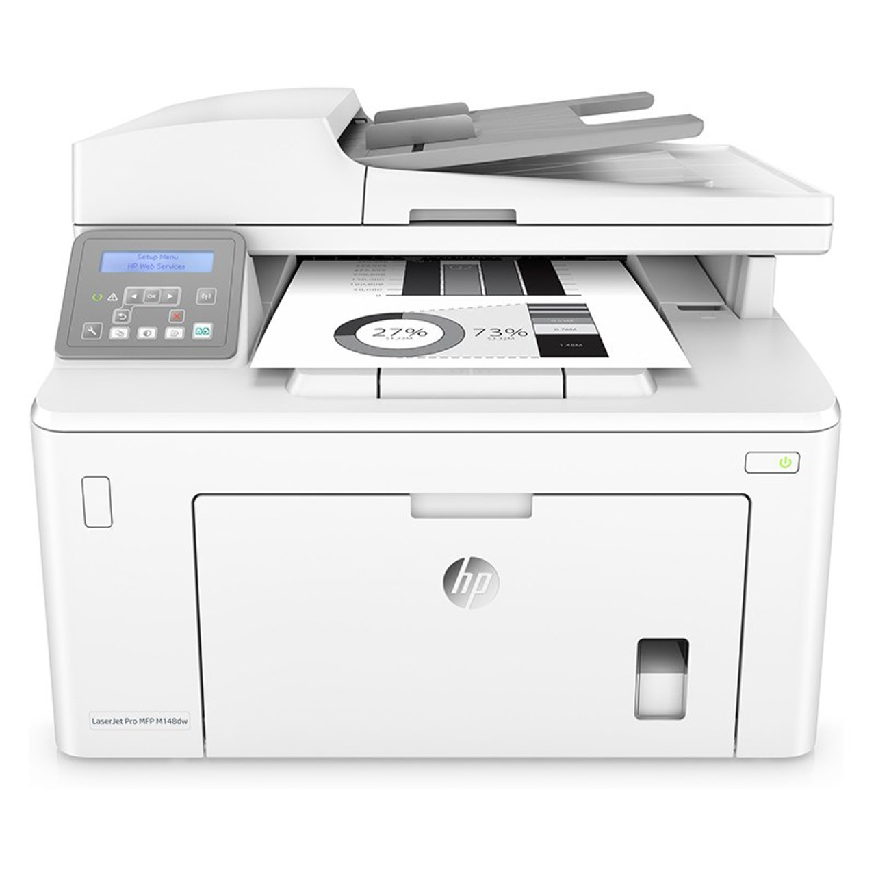 Product image for HP LaserJet Pro M148dw Multifunction Monochrome Wireless Laser Printer | CX Computer Superstore