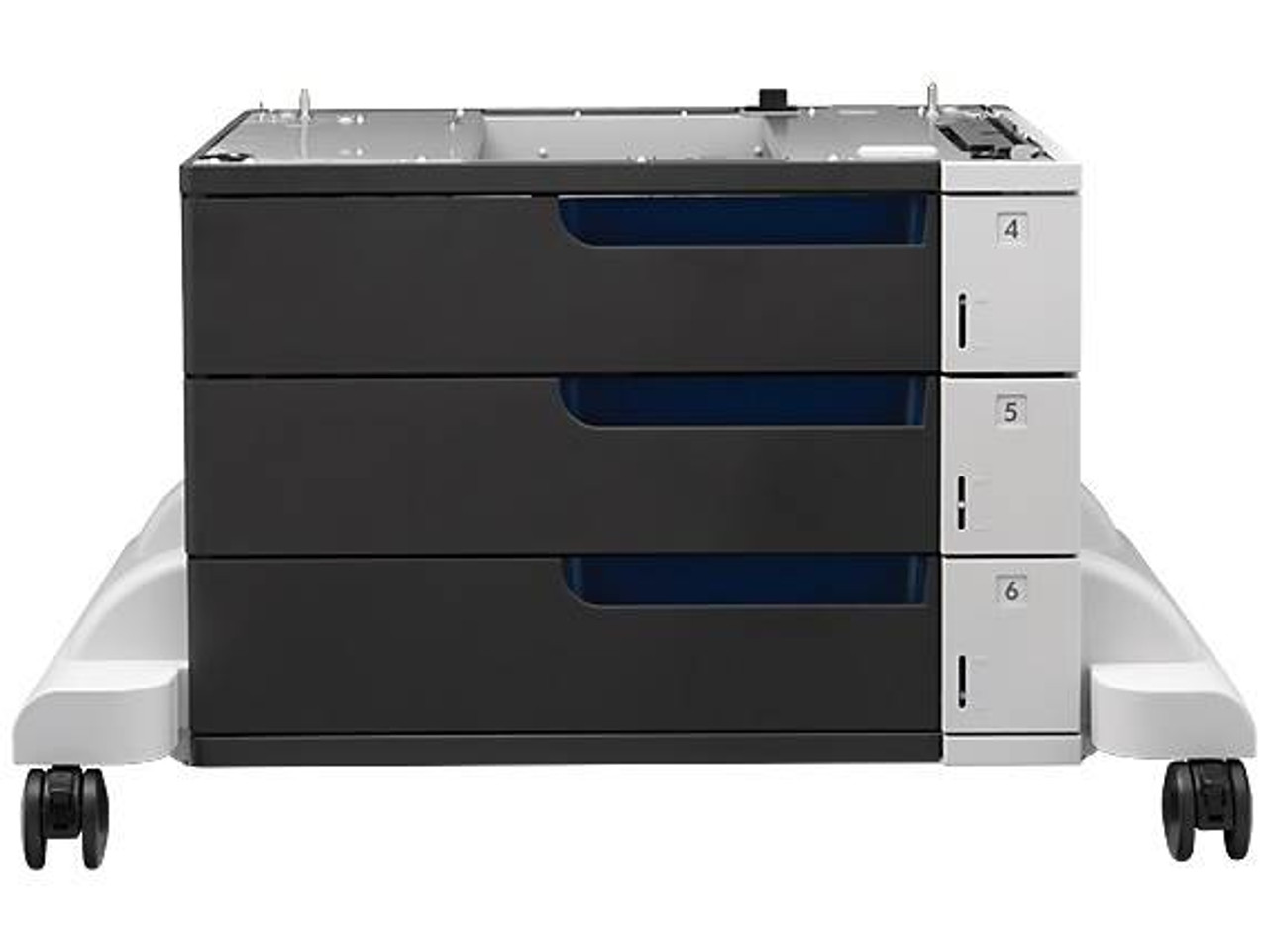 Image for HP C1N63A LaserJet 3x500-sheet Paper Feeder and Stand CX Computer Superstore