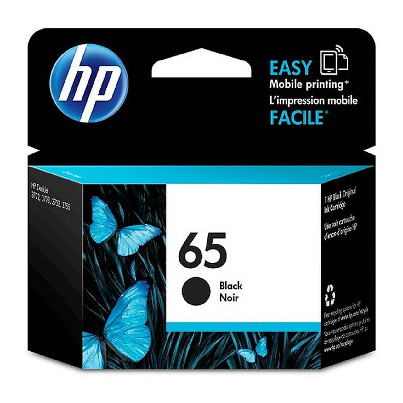 Image for HP65 Ink Cartridge - Black (N9K02AA) CX Computer Superstore