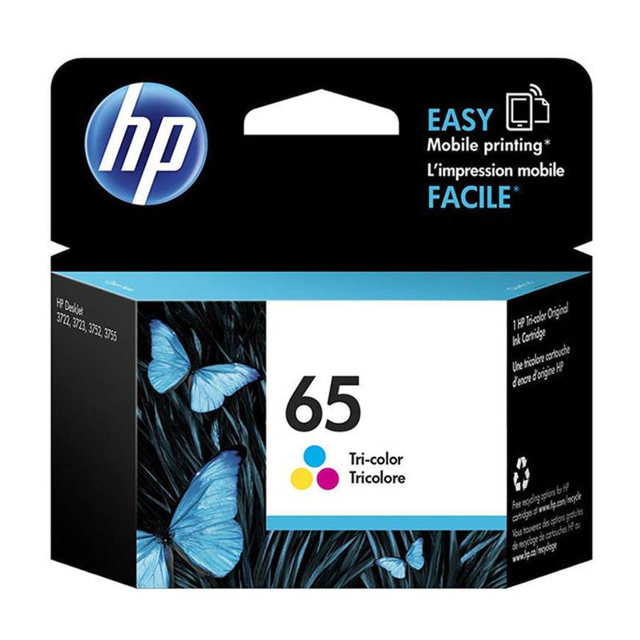 Image for HP65 Ink Cartridge - Tri-Colour (N9K01AA) CX Computer Superstore