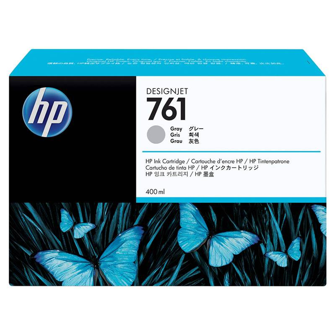 Image for HP761 400ML DesignJet Ink Cartridge - Grey (CM995A) CX Computer Superstore