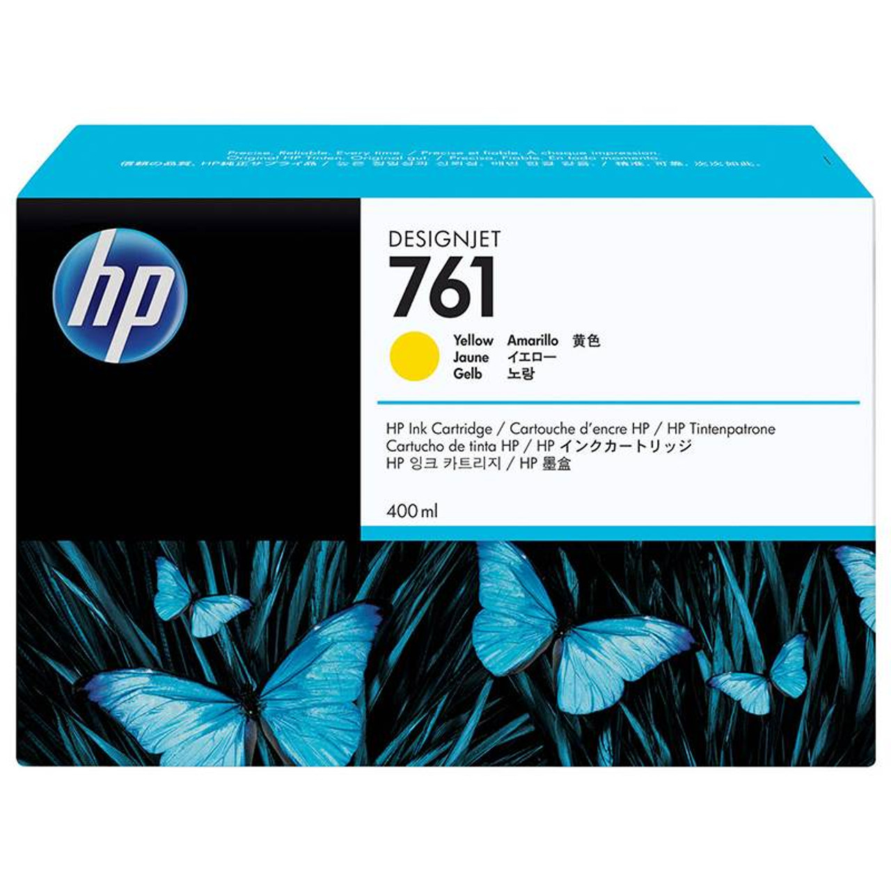 Image for HP761 400ML DesignJet Ink Cartridge - Yellow (CM992A) CX Computer Superstore