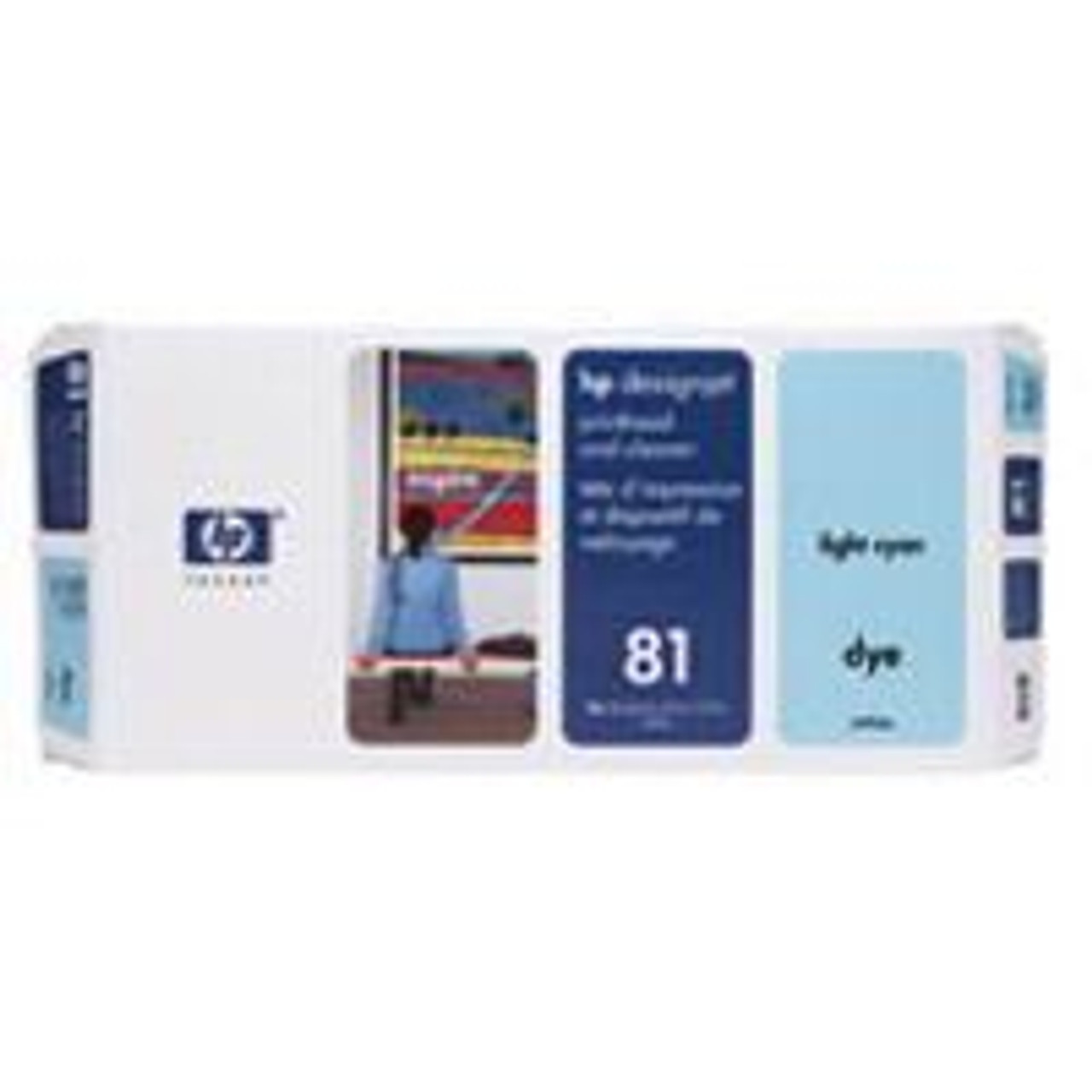 Image for HP 81 Light Cyan Dye Printhead And Cleaner (C4954A) CX Computer Superstore