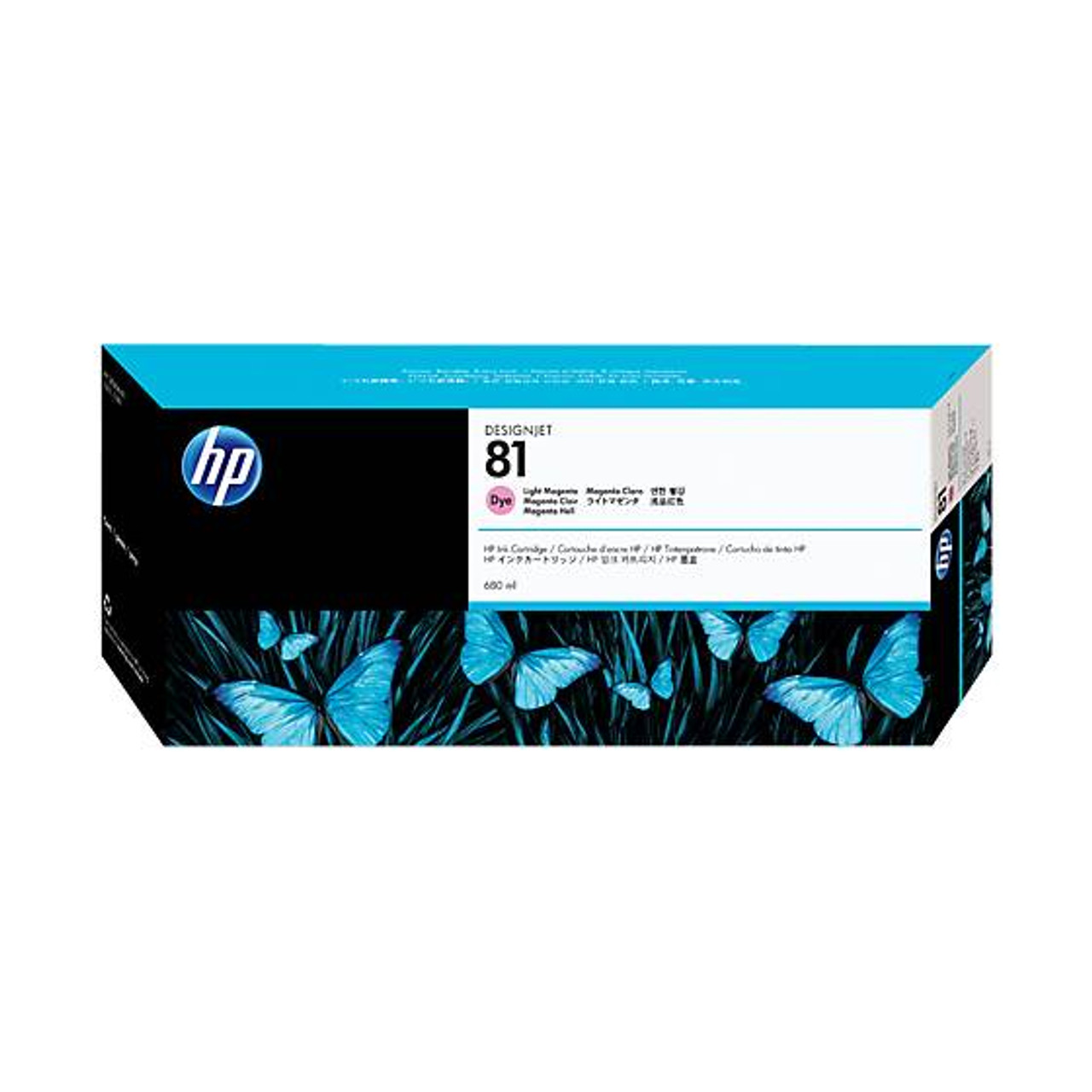 Image for HP 81 Light Magenta Dye 680ml Ink Cartridge (C4935A) CX Computer Superstore