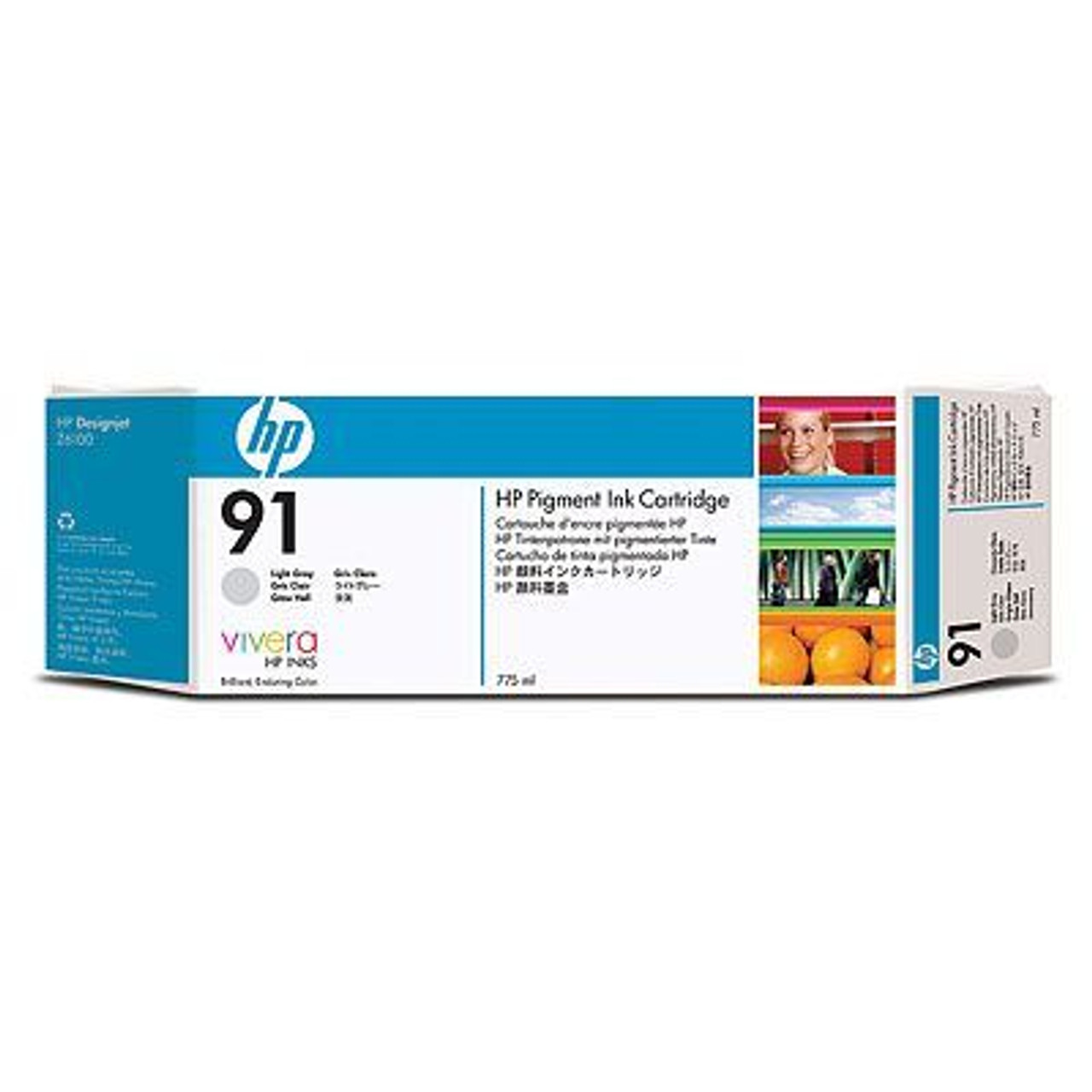 Image for HP 91 775ml Print cartridge 1 x light grey (C9466A) CX Computer Superstore