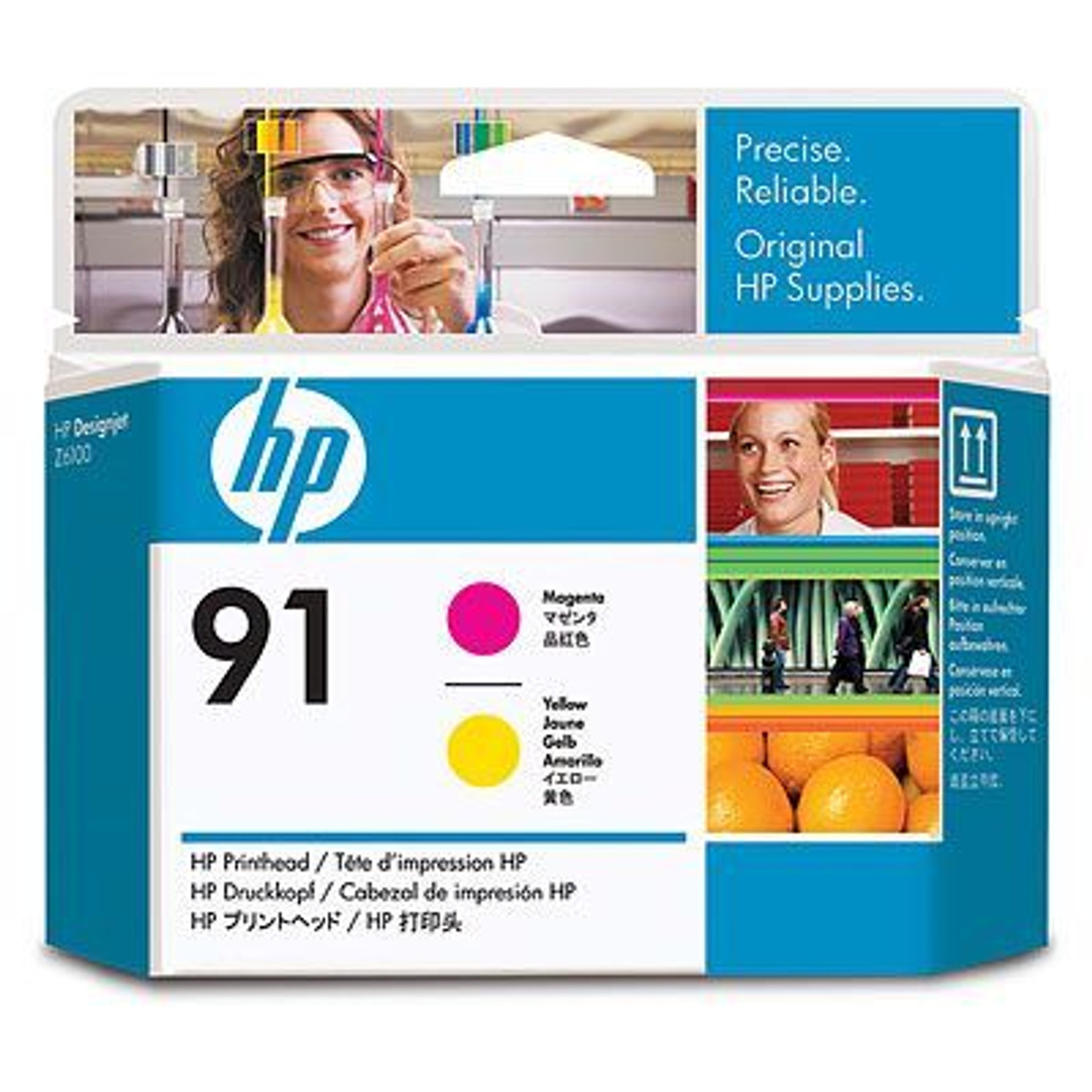 Image for HP 91 Printhead 1 x yellow magenta (C9461A) CX Computer Superstore