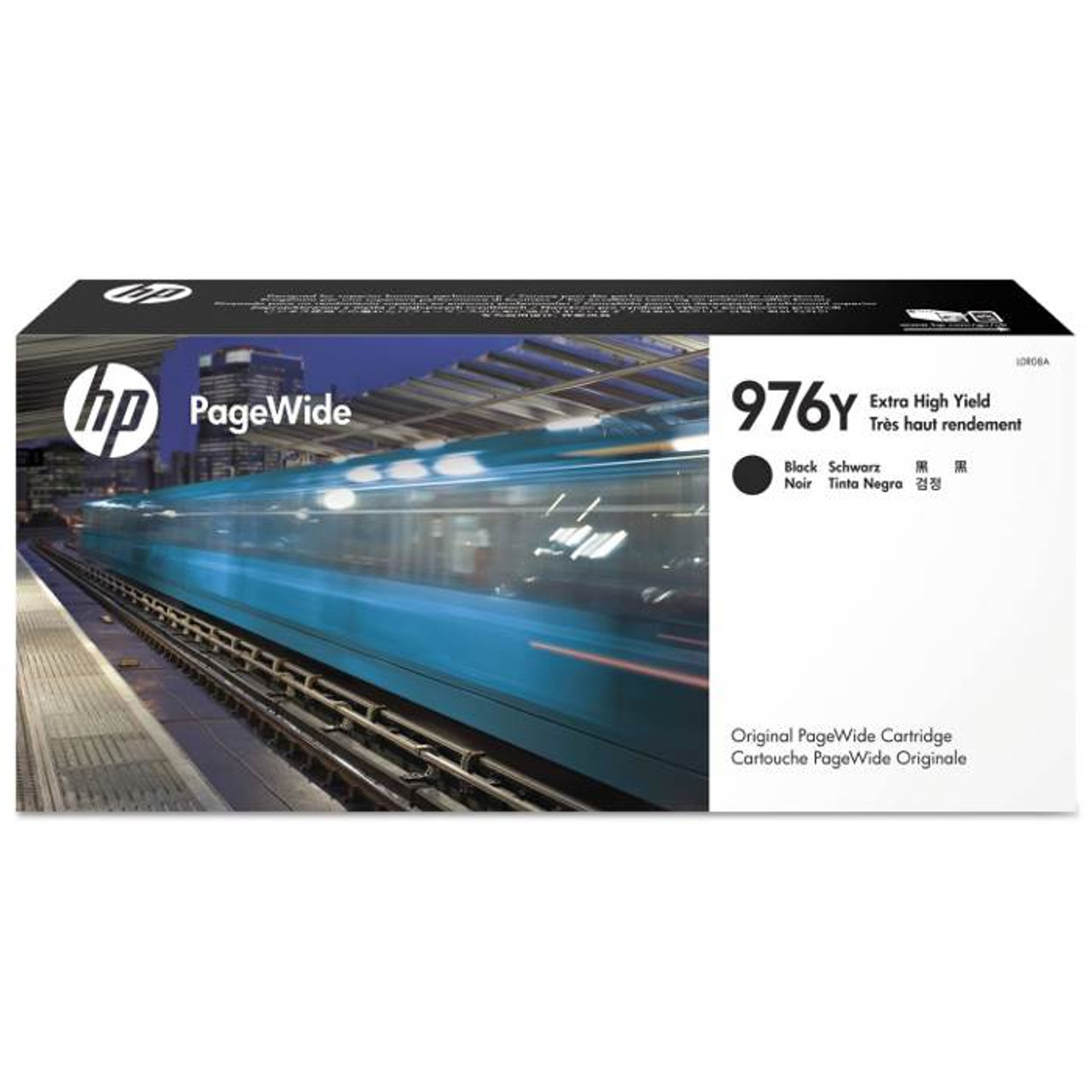 Image for HP 976Y Extra High Yield Black Original PageWide Cartridge (L0R08A) CX Computer Superstore