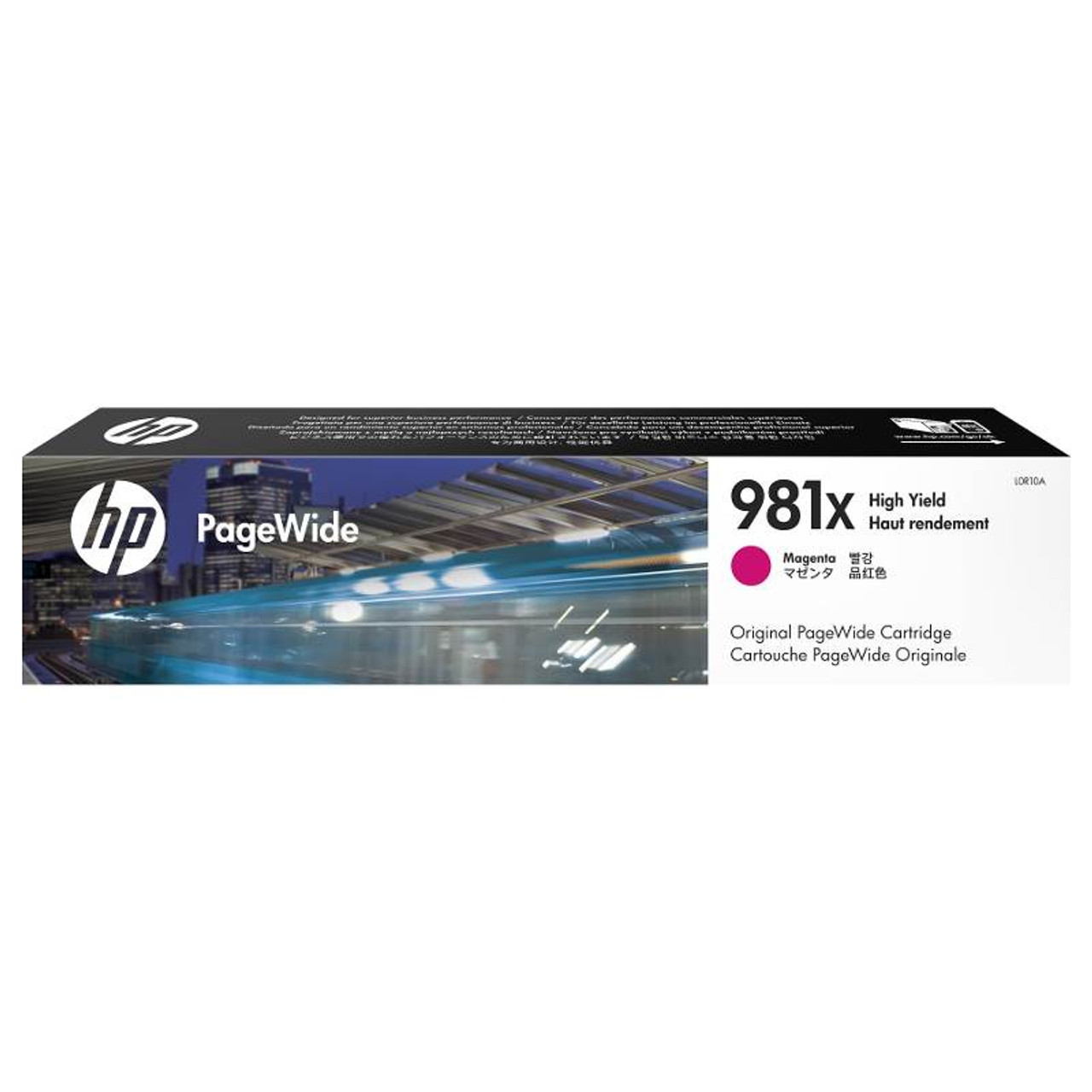 Image for HP 981X High Yield Magenta Original PageWide Cartridge (L0R10A) CX Computer Superstore