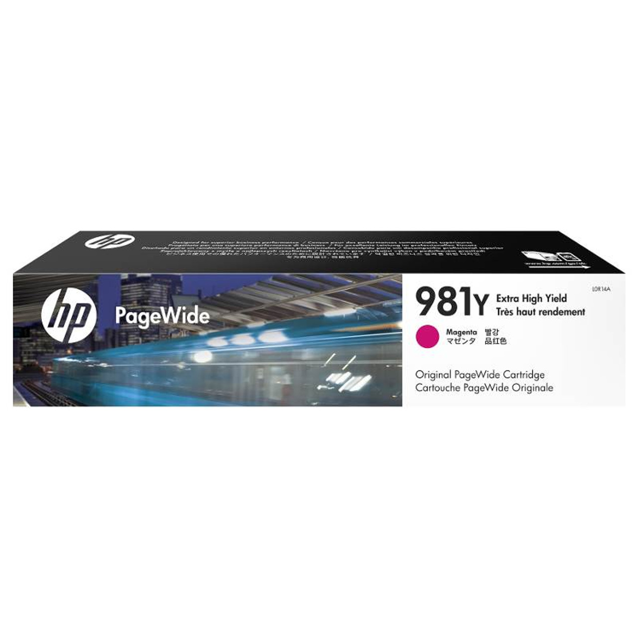 Image for HP 981Y Extra High Yield Magenta Original PageWide Cartridge (L0R14A) CX Computer Superstore