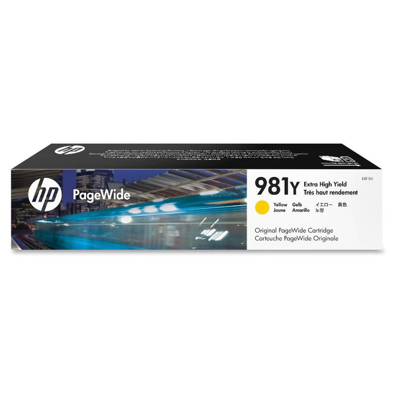 Image for HP 981Y Extra High Yield Yellow Original PageWide Cartridge (L0R15A) CX Computer Superstore