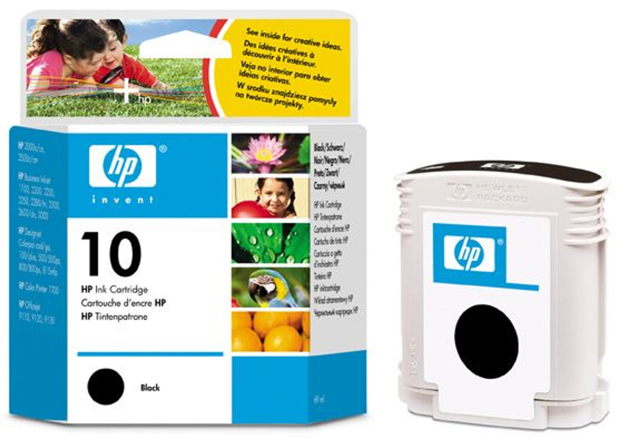Image for HP 10 Large Black Ink Cartridge 1750 pages (C4844A) CX Computer Superstore