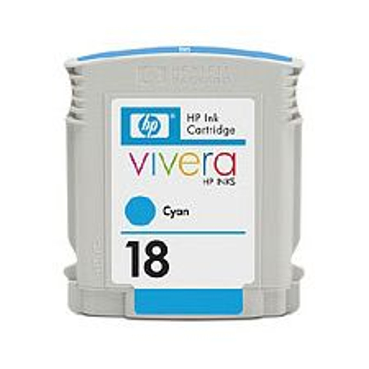 Image for HP 18 Cyan Ink Cartridge 625 pages (C4937A) CX Computer Superstore