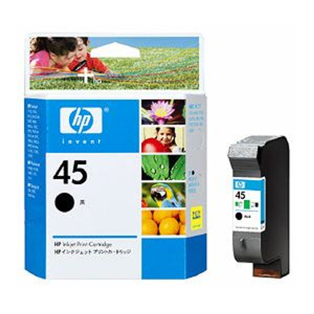 Image for HP No.45 Black Inkjet Cartridge (51645AA) CX Computer Superstore