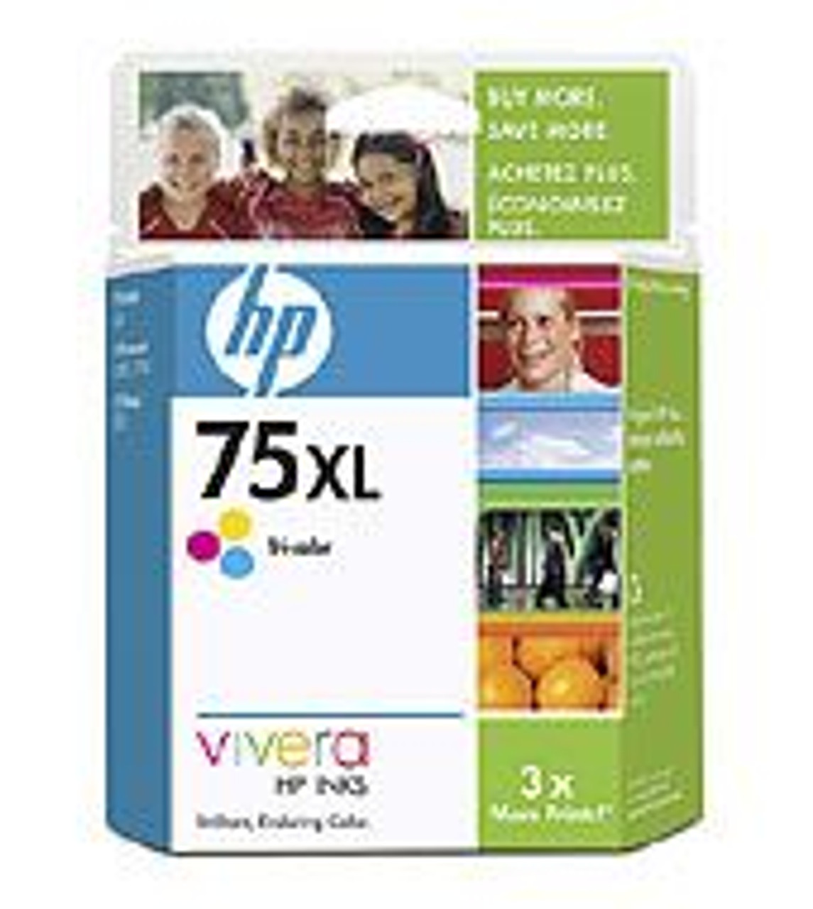 Image for HP 75 XL Tricolor Ink Cartridge (CB338WA) CX Computer Superstore