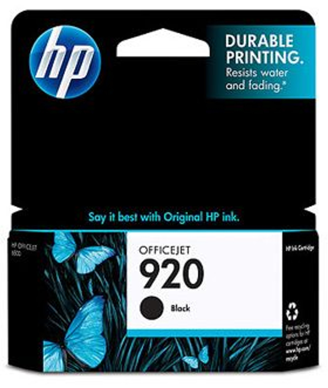 Image for HP 920 Black Officejet Ink Cartridge, 420 pages (CD971AA) CX Computer Superstore