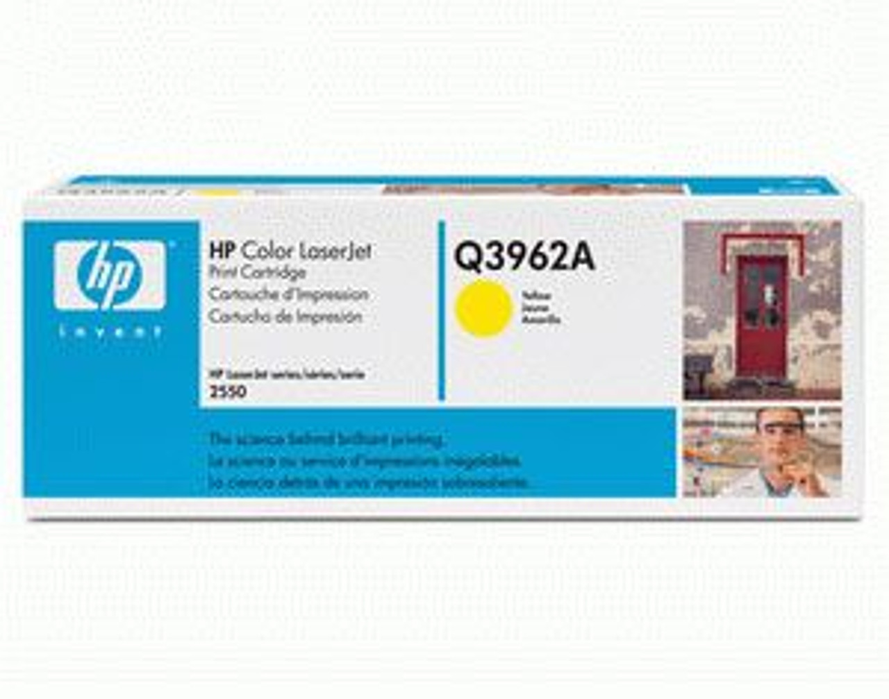 Image for HP High Capacity Yellow Toner 4K pages (Q3962A) CX Computer Superstore