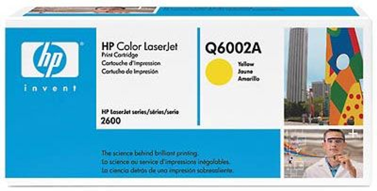 Image for HP 124A Yellow LaserJet Toner Cartridge (Q6002A) CX Computer Superstore