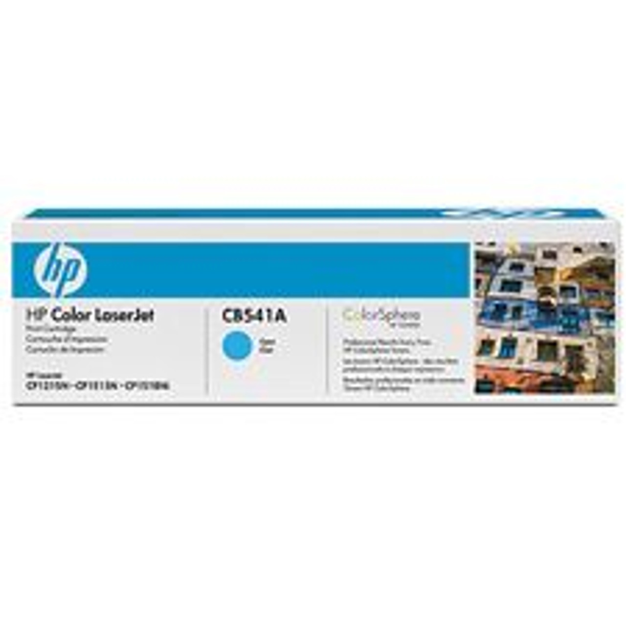 Image for HP Color Laserjet Cyan Cartridge (CB541A) CX Computer Superstore