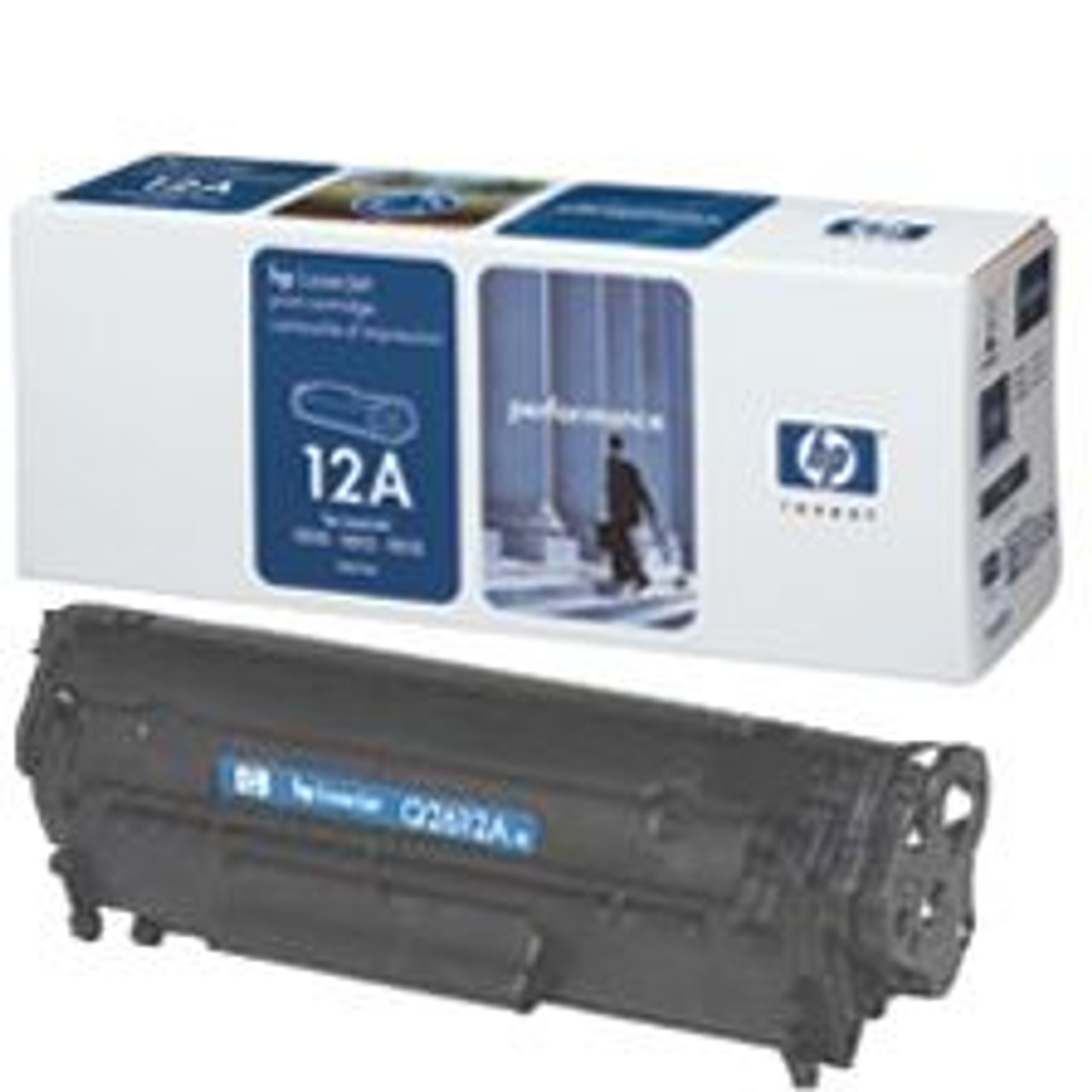 Image for HP 12A Black Toner Cartridge 2K pages (Q2612A) CX Computer Superstore