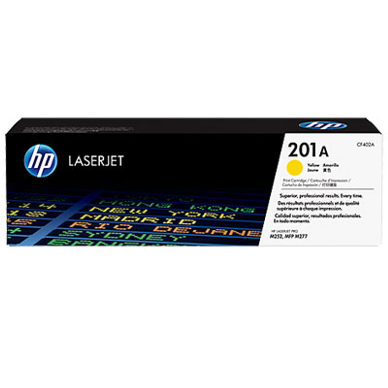 Image for HP #201A Yellow Toner CF402A 1,400 pages CX Computer Superstore