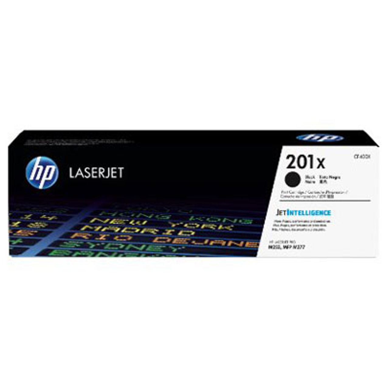 Image for HP #201X Black Toner CF400X 2,800 pages CX Computer Superstore