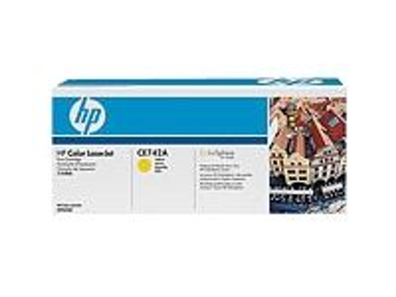 Image for HP Yellow Toner cartridge for CP5220 (CE742A) CX Computer Superstore