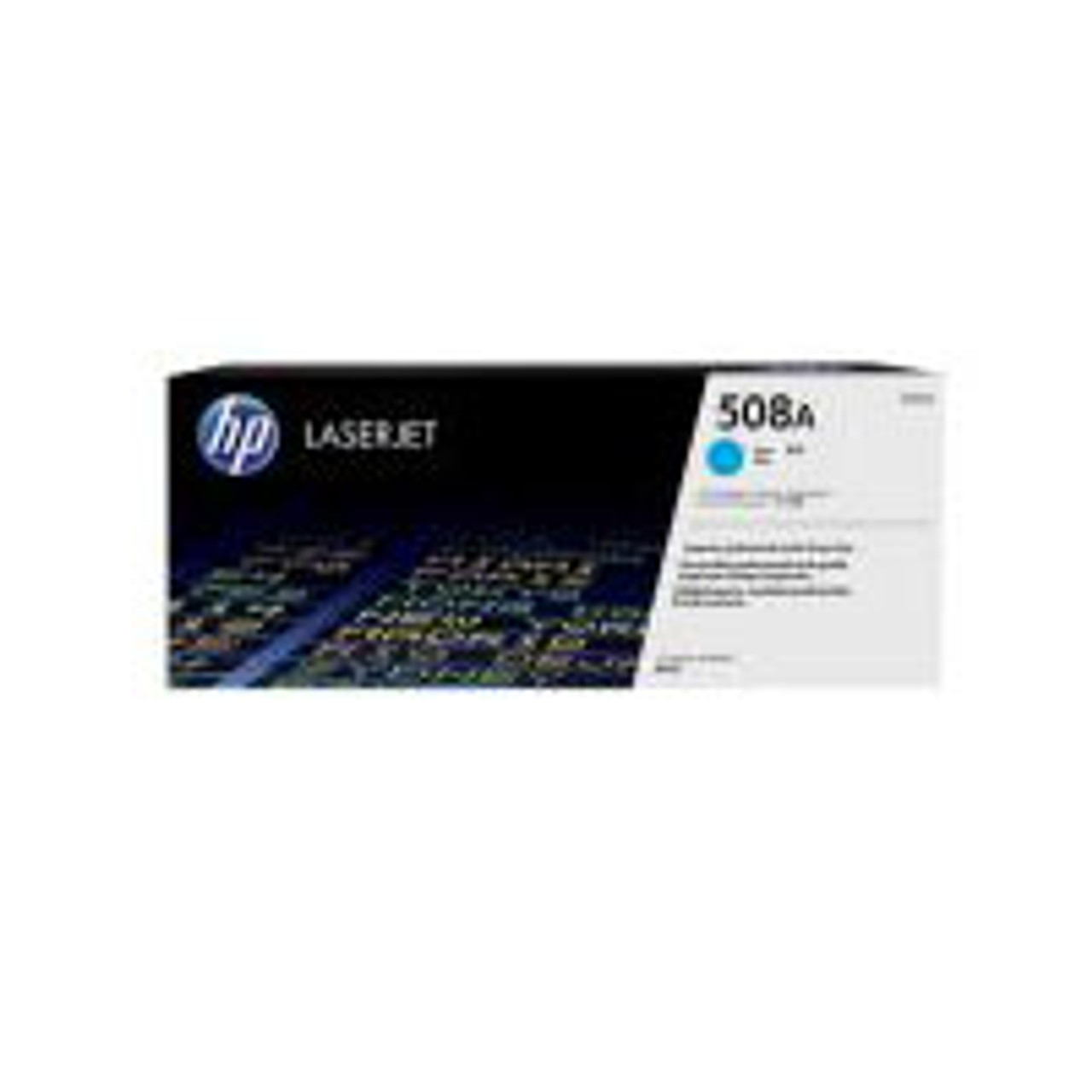 Image for HP #508A Cyan Toner Cartridge 5000 pages (CF361A) CX Computer Superstore