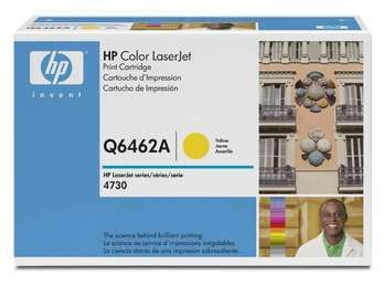 Image for HP Yellow Cartridge for 4730 12K pages (Q6462A) CX Computer Superstore