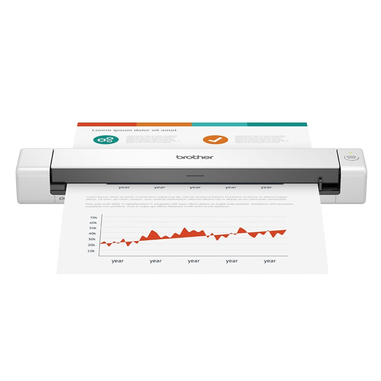 Image for Brother DS-640 Portable Document Scanner CX Computer Superstore