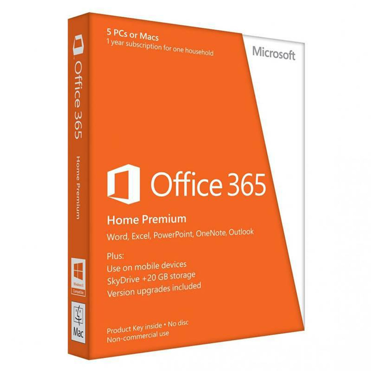 Image for Microsoft Office 365 Home (5 Devices) - 1 Year - Digital Download CX Computer Superstore