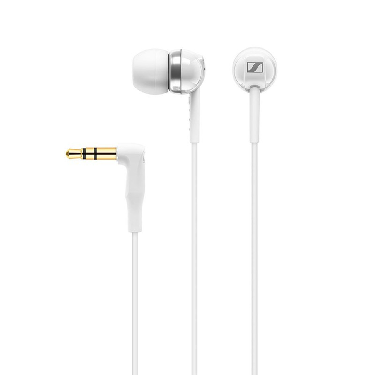 Image for Sennheiser CX 100 In-Ear Headphones - White CX Computer Superstore