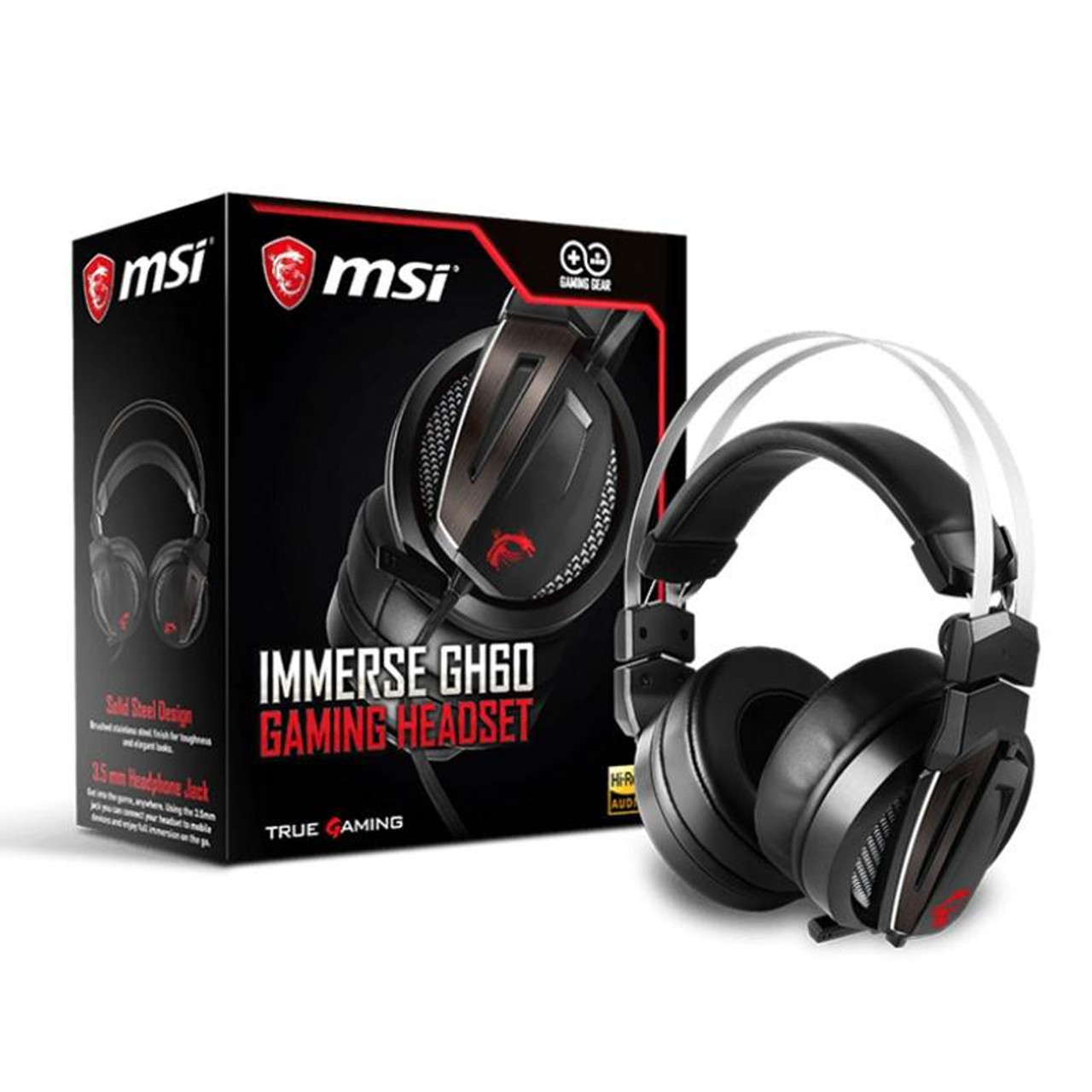 Image for MSI Immerse GH60 Gaming Headset CX Computer Superstore
