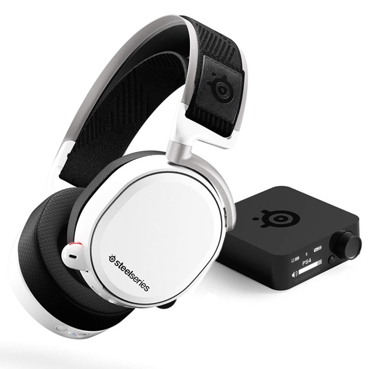 Image for SteelSeries Arctis Pro Wireless DTS Headset - White CX Computer Superstore