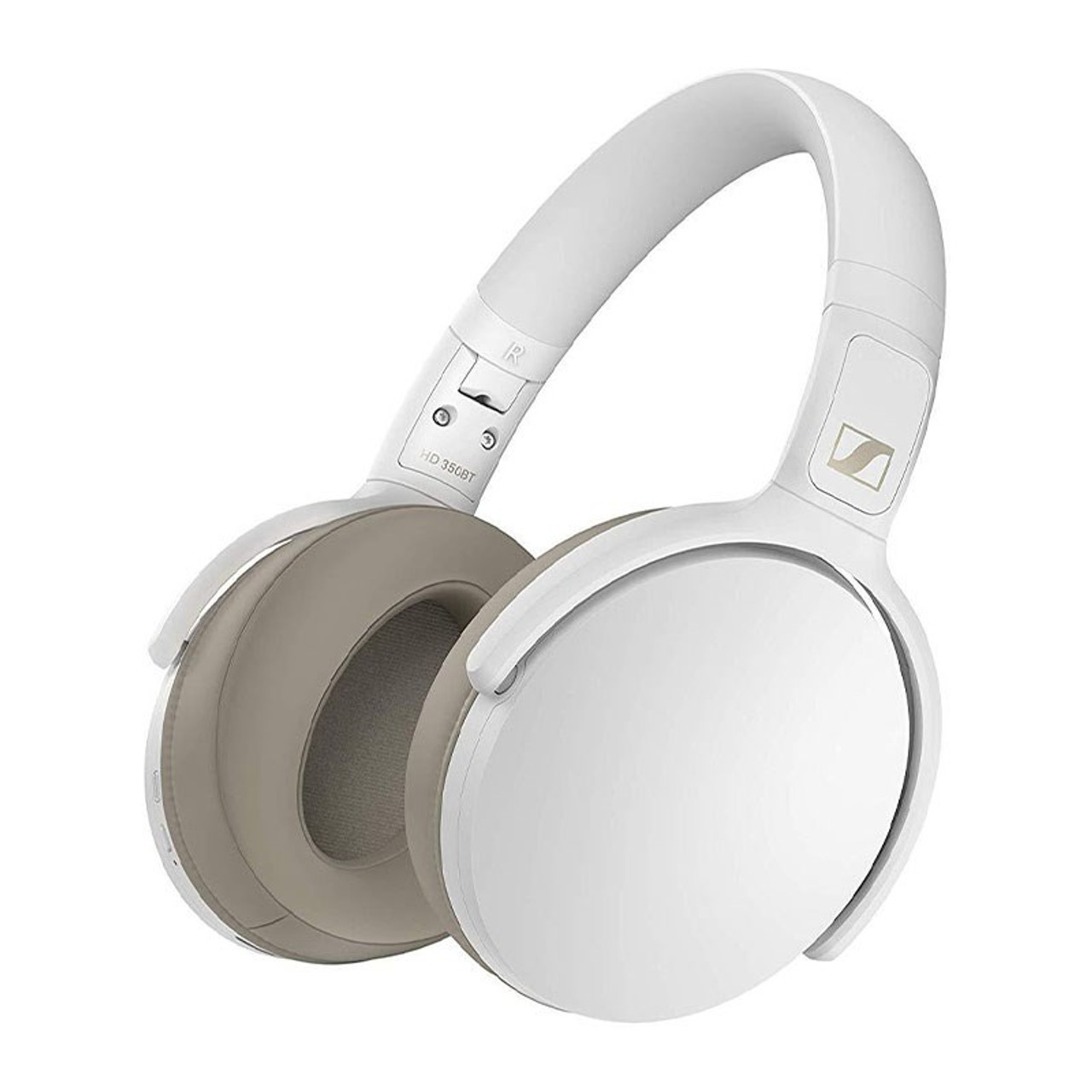 Image for Sennheiser HD 350BT Bluetooth Headphones With Built In Mic - White CX Computer Superstore