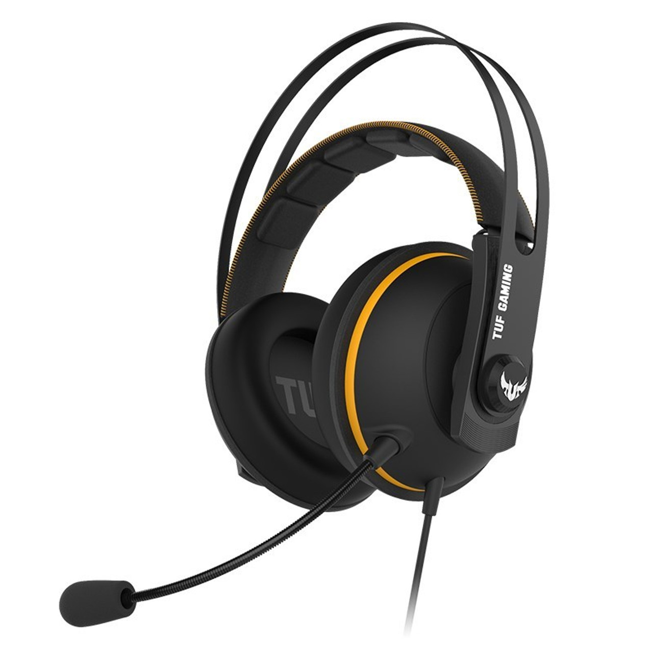 Image for Asus TUF Gaming H7 Virtual 7.1 USB Gaming Headset - Yellow CX Computer Superstore