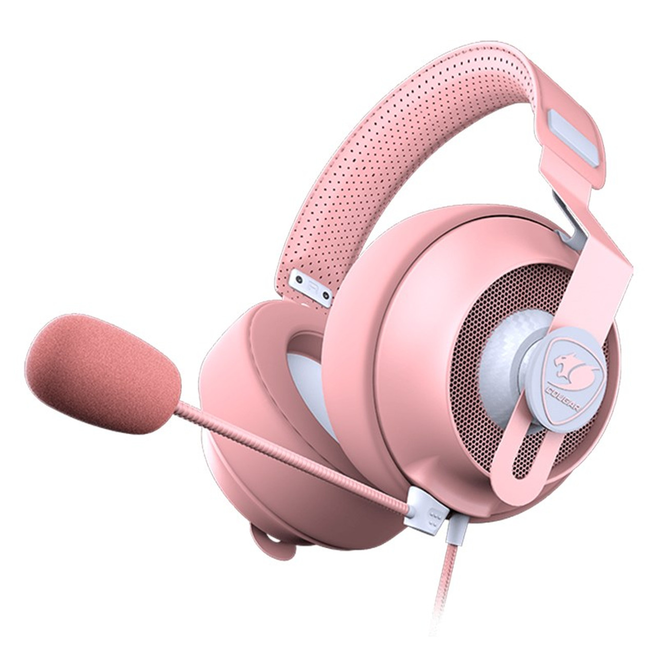 Image for Cougar Phontum S Wired Gaming Headset - Pink CX Computer Superstore