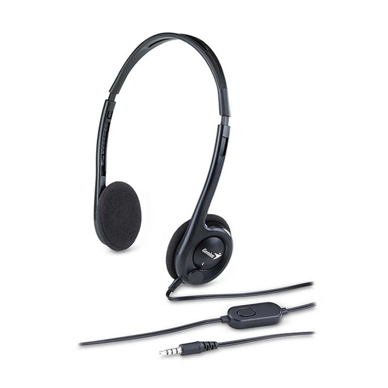 Image for Genius HS-M200C On-Ear Stereo Lightweight Headset CX Computer Superstore